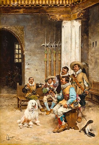 the pet of the regiment by joaquín agrasot y juan