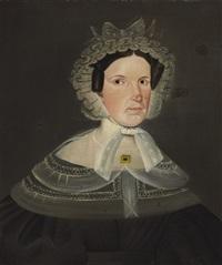portrait of a woman by sheldon peck
