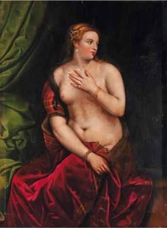 la vénus au miroir by titian tiziano vecelli