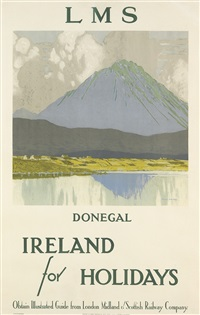ireland for holidays/donegal by paul henry