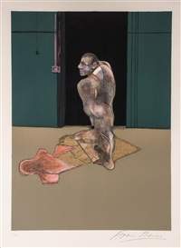 study for portrait of john edward by francis bacon