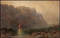 coastal landscape by otto reinhold jacobi