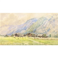 paesaggio montano by federico ashton