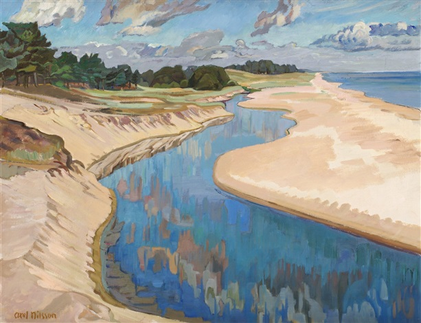 ån vid havet by axel nilsson