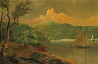 sailing on the hudson by henry ary