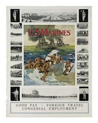 u.s. marines by posters: world war i & ii
