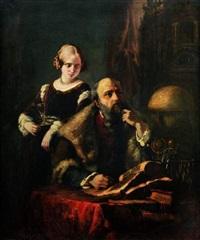 faust et marguerite by daniel maclise
