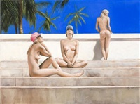 at the beach - 3 graces by jill del mace