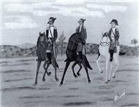 three horsemen: dessalines, toussaint, christophe by philomé obin