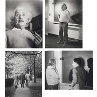 einstein at princeton, 1941 by lucien aigner