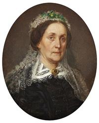 cecilia gustava meijer (1812-99, née lindroos) by erik johan löfgren