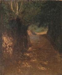 le chemin ombragé by serafino macchiati