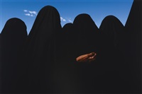 iraq (women in black veils) by james nachtwey