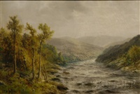 delaware water gap by thomas b. griffin