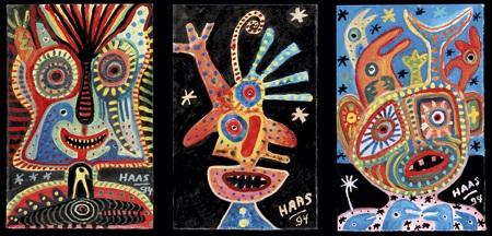 ensemble de compositions 3 works in 1 frame by kurt joseph haas