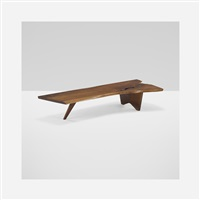 slab coffee table by george nakashima