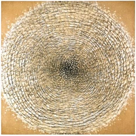 weisse spirale by günther uecker