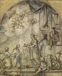 una pala (study) by belisario corenzio