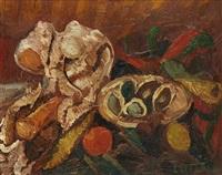 nature morte aux fruits by andré lanskoy