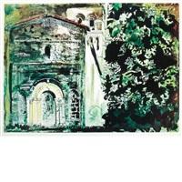 la chapelle st. robert, dordogne (levinson 189) by john piper
