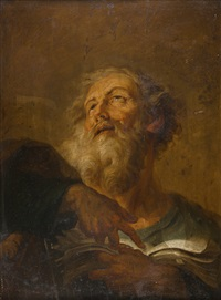 der heilige petrus by johann jakob dorner the elder