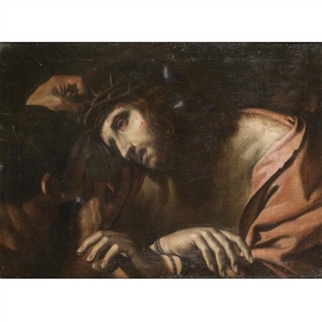 the mocking of christ by annibale carracci on artnet
