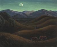 california landscape by carl olof eric lindin