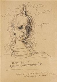 hommage à erich von stroheim by rené magritte