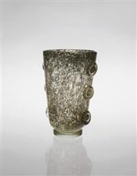 porpora' vase by ercole barovier