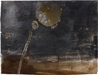 aaron's rod turning into a snake by anselm kiefer
