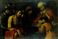 le christ devant pilate by lionello spada