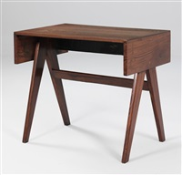 desk (student desk) by pierre jeanneret