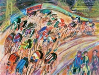 course cycliste by maurice empi