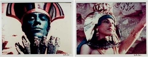 lucifer rising donald cammel as osiris and myriam gibril as isis 2 works by kenneth anger