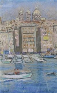 le vieux port de marseille by etienne cournault