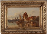 am holländischen kanal by van hoom