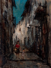 the small street by jan korthals