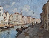 sulla sponda del canale by alfredo sablautzki