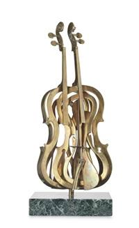 violon coupé by arman