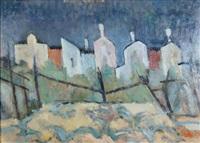 paesaggio a burano by nando coletti