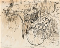 le bébé de stans dans sa charrette anglaise by rik wouters