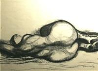 reclining nude by noel jack counihan