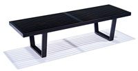 platform bench (model 4692) by george nelson