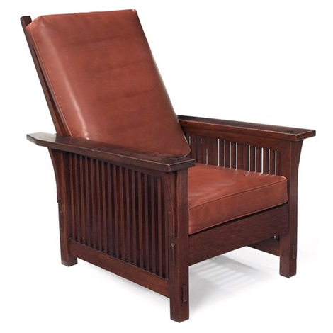 morris chair by gustav stickley
