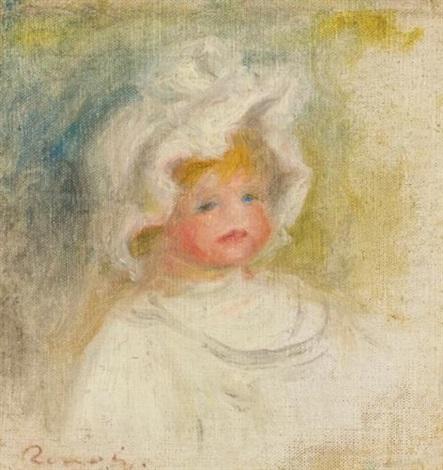 portrait de coco renoir by pierre auguste renoir