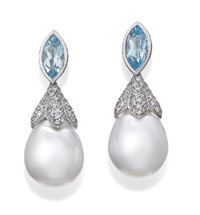 a pair of earrings by autore (co.)