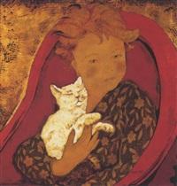 jeune fille au chat by alix aymé