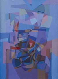 composition bleue by carlo marangio