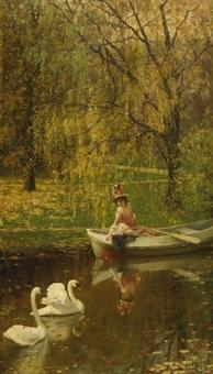 autumn elegance by felix friedrich von ende