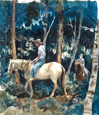 trail riding bareback by john pike